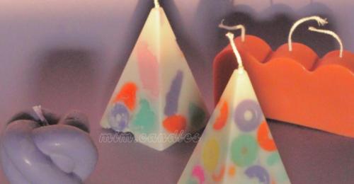 Ezek a gyertyák úgy néznek ki, mint a legmenőbb kerámiák