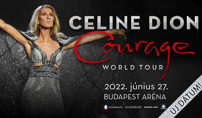 Ismét elhalasztják Celine Dion budapesti koncertjét