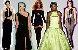 Bőrvillantás mesterfokon – A cutout ruhák divatja