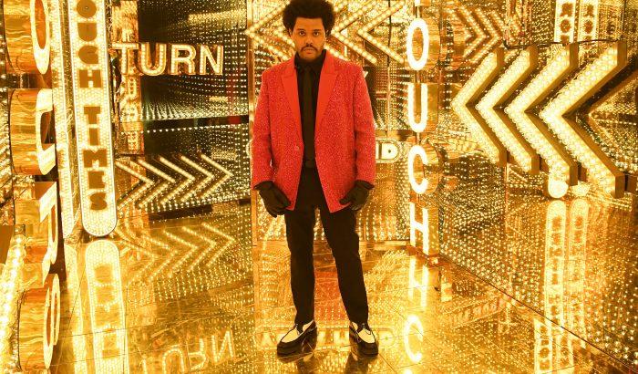 Super Bowl: 250 óra alatt készült el The Weeknd Givenchy öltönye