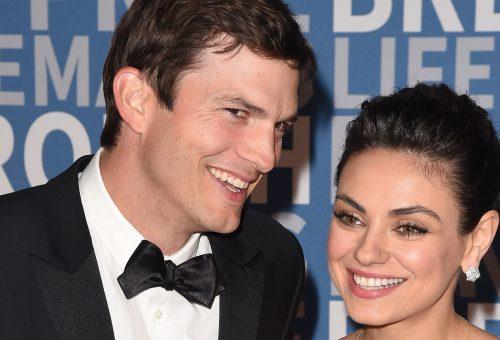 Mila Kunis és Ashton Kutcher a gyerekeik elől menekültek a forgatásba