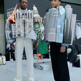 Épületekből készített kabátot a Louis Vuittonnak Virgil Abloh