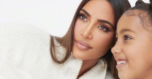 Kim Kardashian SKIMS outfitet készített lánya szakállas agámájának