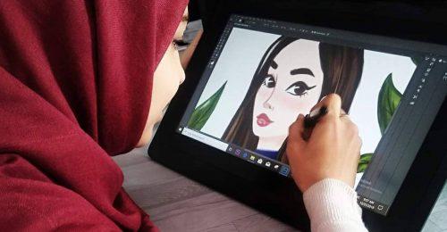 Ismerjük meg Afganisztán első női rajzfilmanimátorát, aki a Pixarról álmodik