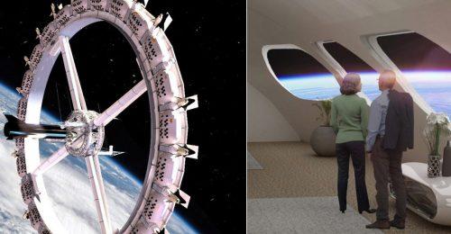 Nem evilági vakáció: már foglalhatunk szobát az új űrhotelbe