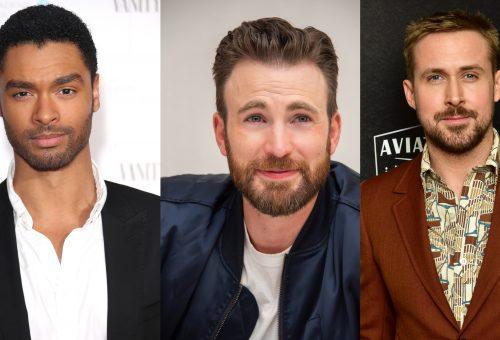 Szívtipróból is megárt a sok: Regé-Jean Page, Chris Evans és Ryan Gosling egy filmben