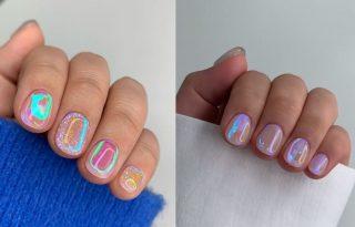 Az aurora borealis köröm a legújabb Instagram-trend