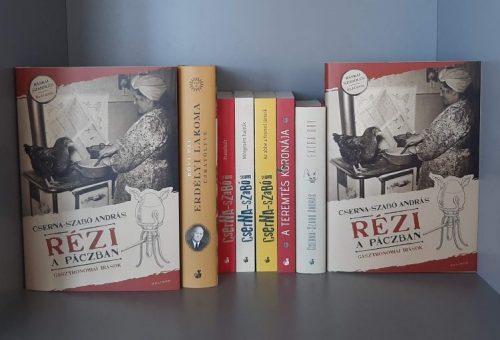 Megjelent Cserna-Szabó András új könyve, a Rézi a Páczban