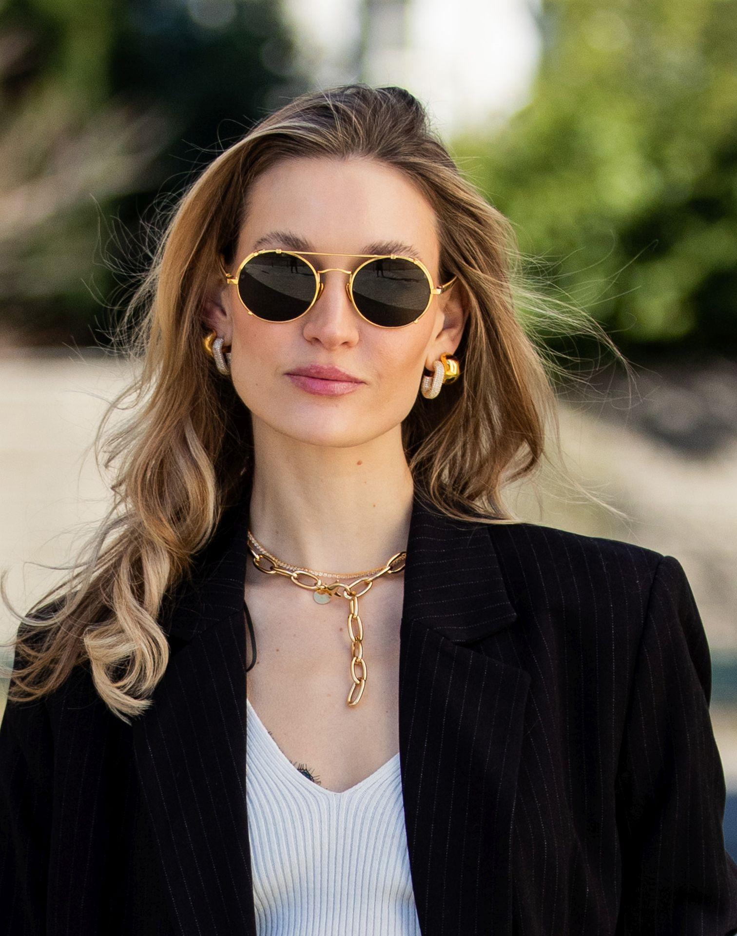Street Style kerek napszemüveg