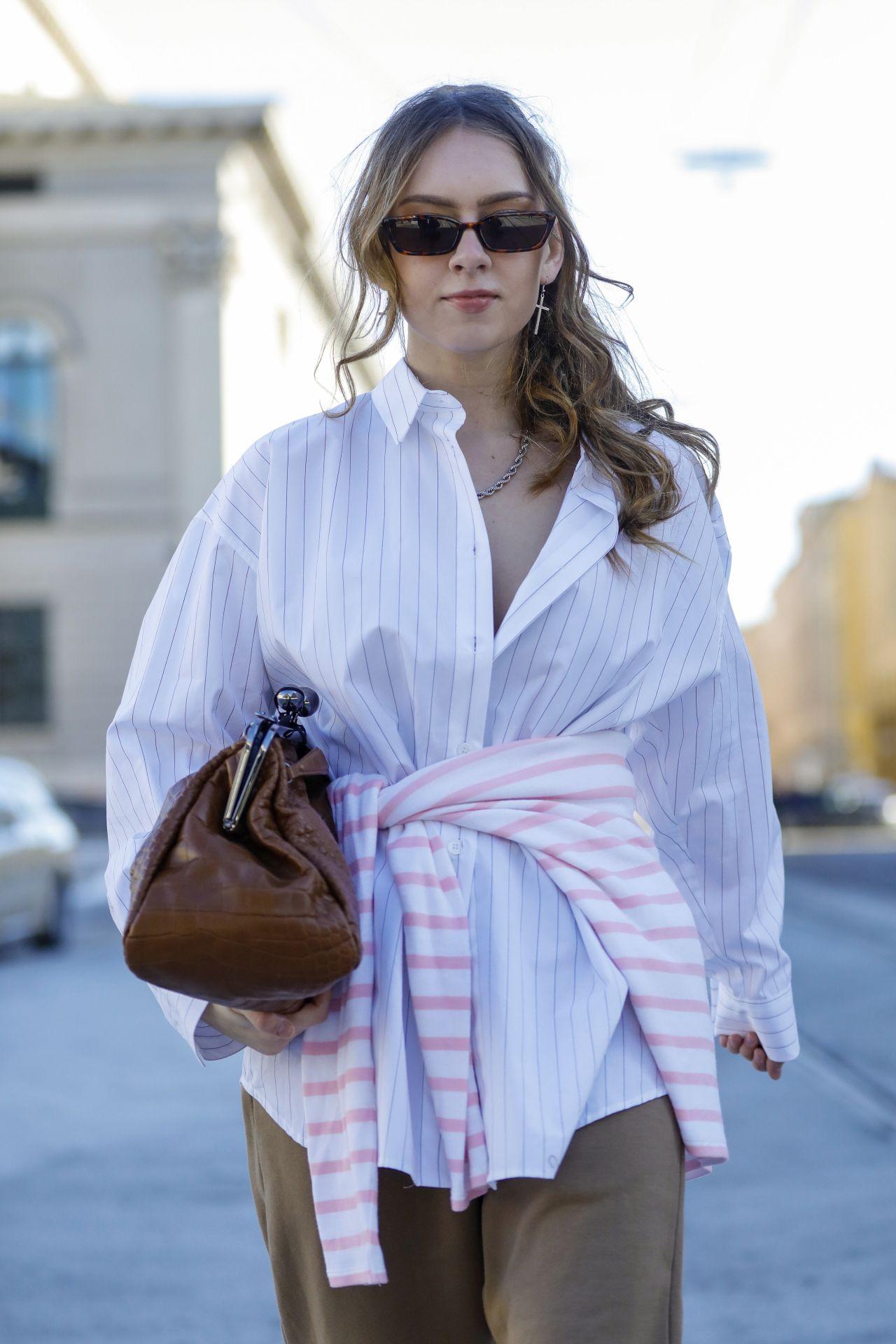 Street Style szögletes napszemüveg