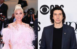Alig lehet ráismerni Lady Gagára és Adam Driverre a Gucci-film forgatásán