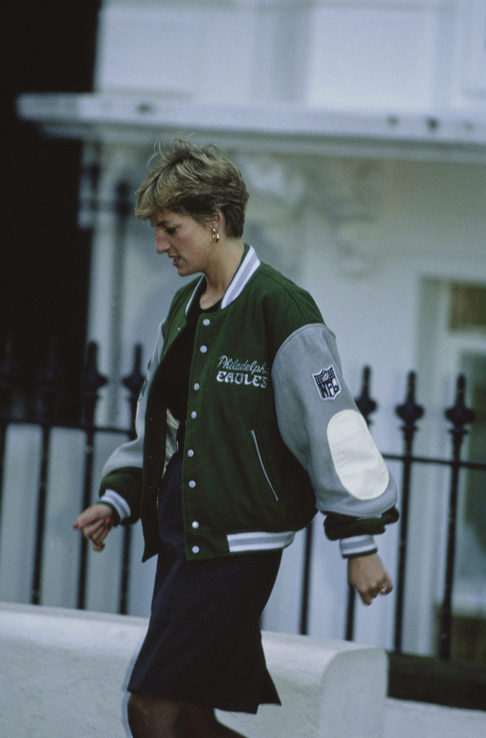 Diana hercegné bomber dzseki