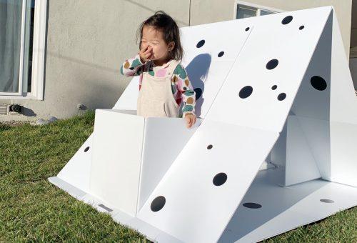 Minimalista játszóház dizájnérzékeny gyerekeknek