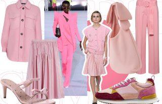 Rágógumi rózsaszín – a pink, ami rátapadt a divatra