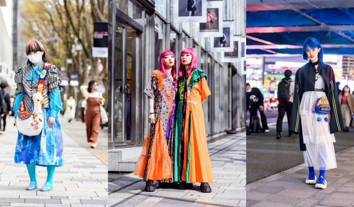 Vagány street style szettek a tokiói divathétről