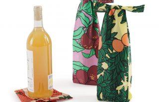 Stílusos vászontáska a boraidnak