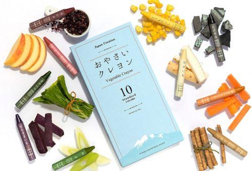 Zöldségekből készült zsírkrétákkal lehet környezetbarát a rajzolás