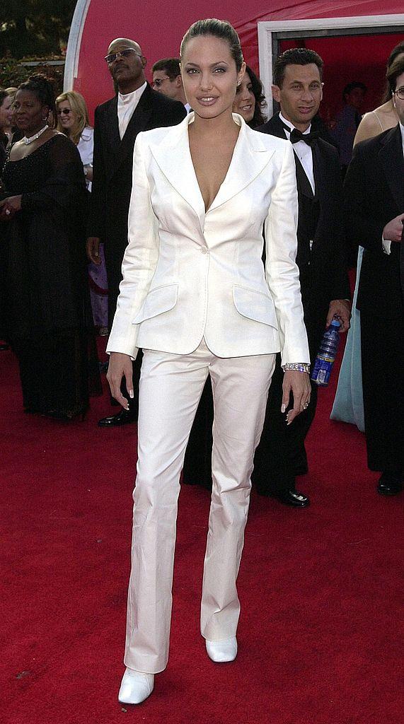 Angelina Jolie Oscar 2001