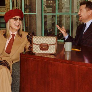 A 75 éves Diane Keaton bevállalta a Gucci-kampányt