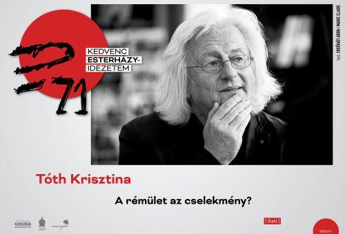Köztéri plakátokkal, 40 hazai író, költő kedvenc EP-idézetével ünnepli a harmadik kerület Esterházy Péter születésnapját