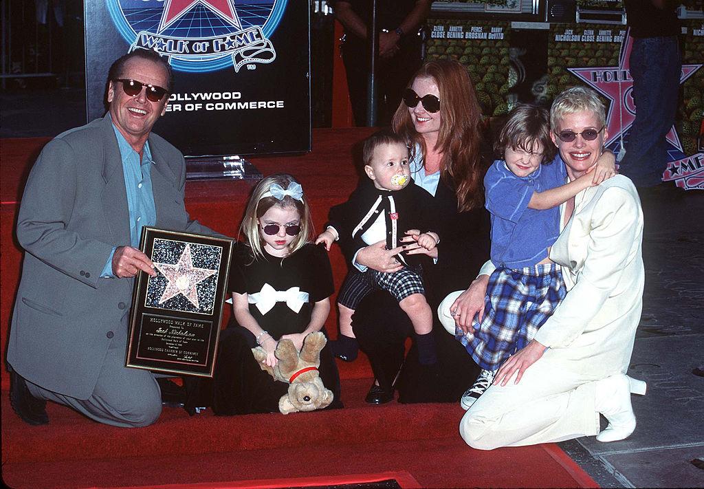 Jack Nicholson csillaga Hollywoodban