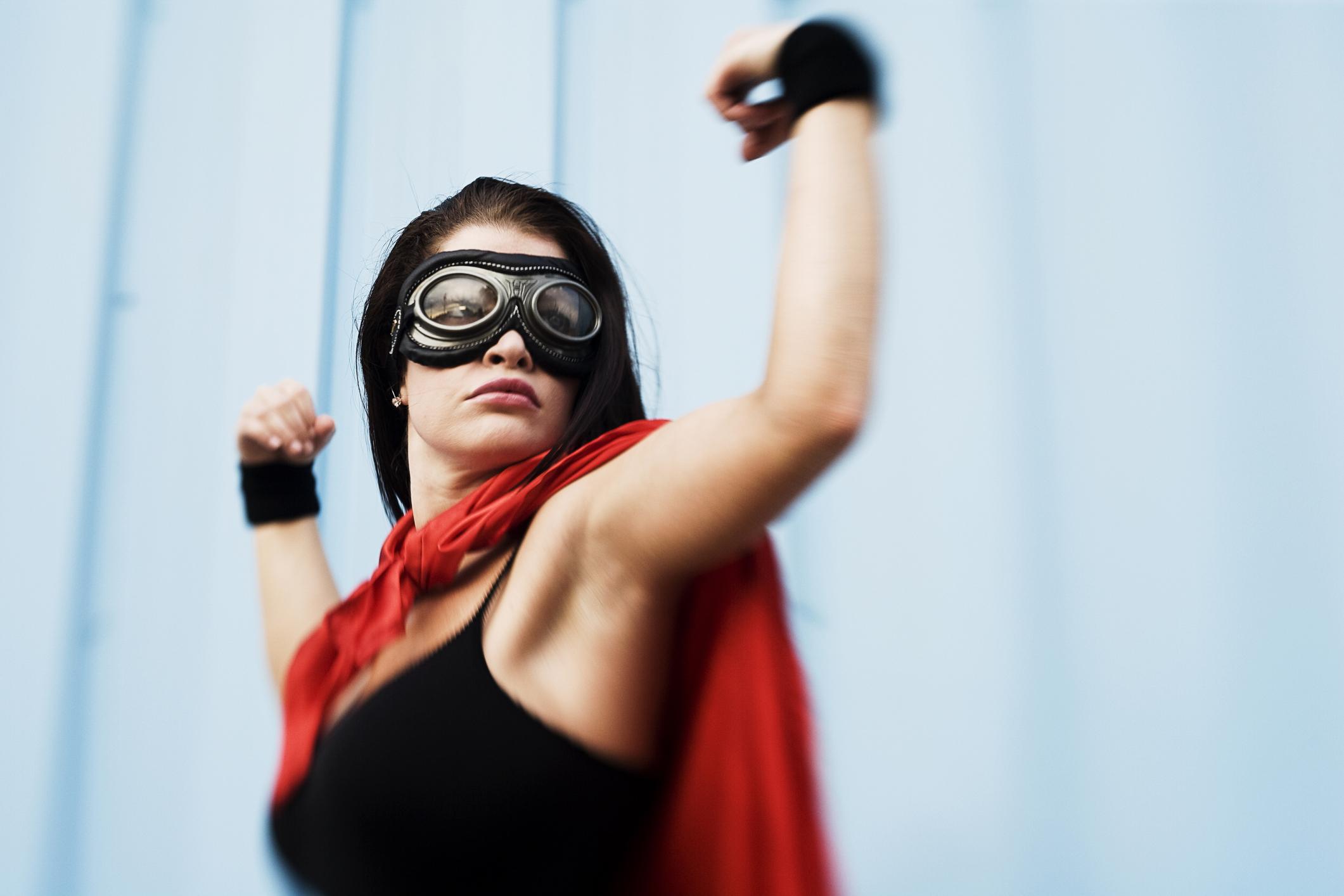 szuperhős nő