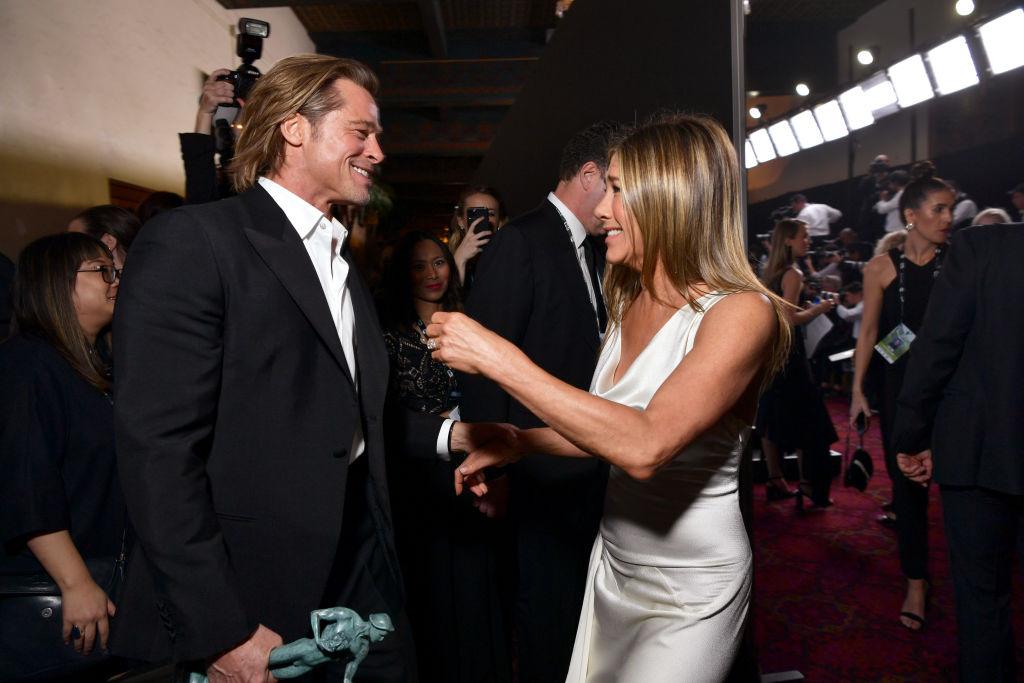 Brad Pitt és Jennifer Aniston 2020-ban