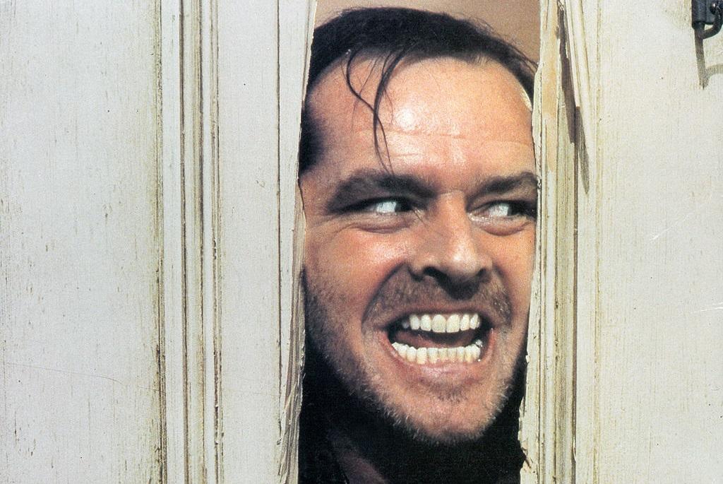 Jack Nicholson a Ragyogásban