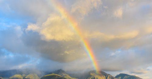 Miért Hawaii a legjobb hely, ha szivárványt akarunk látni?