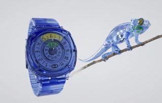 Zafírból készített órát a Gucci