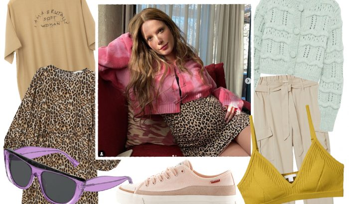 Gömbölyödő divat – kismamaruhák Halsey stílusában