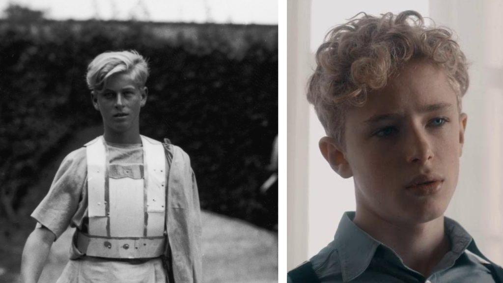 Finn Elliot, mint a fiatal Fülöp herceg A korona sorozatban
