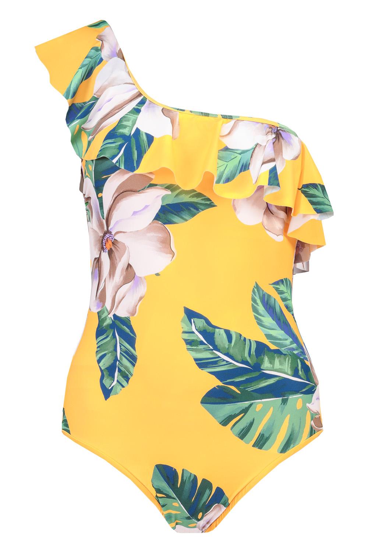 12. kép: Trópusi mintás fürdőruha: 6490 Ft