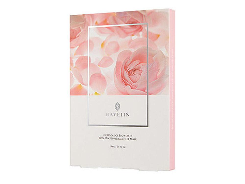 Hayejin Blessing of Sprout Hidratáló fátyolmaszk damaszkuszi rózsakivonattal