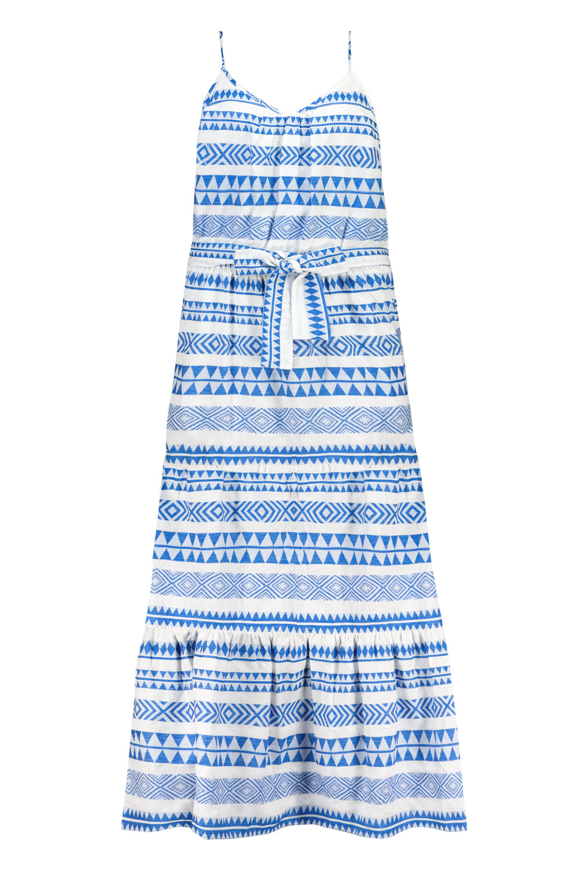 7. kép: Kék mintás ruha: 6990 Ft