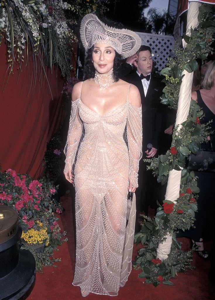 Cher az 1998-as Oscar-gálán