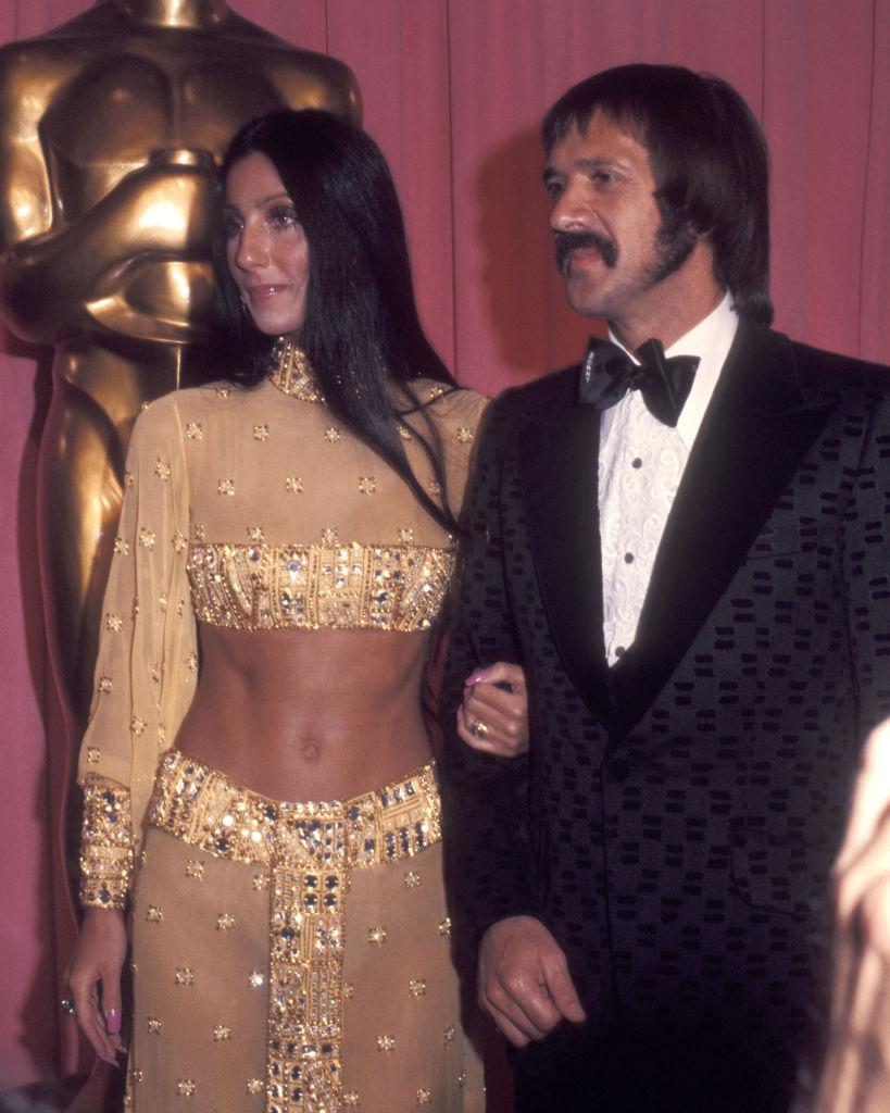 Cher és Sonny Bono 1973