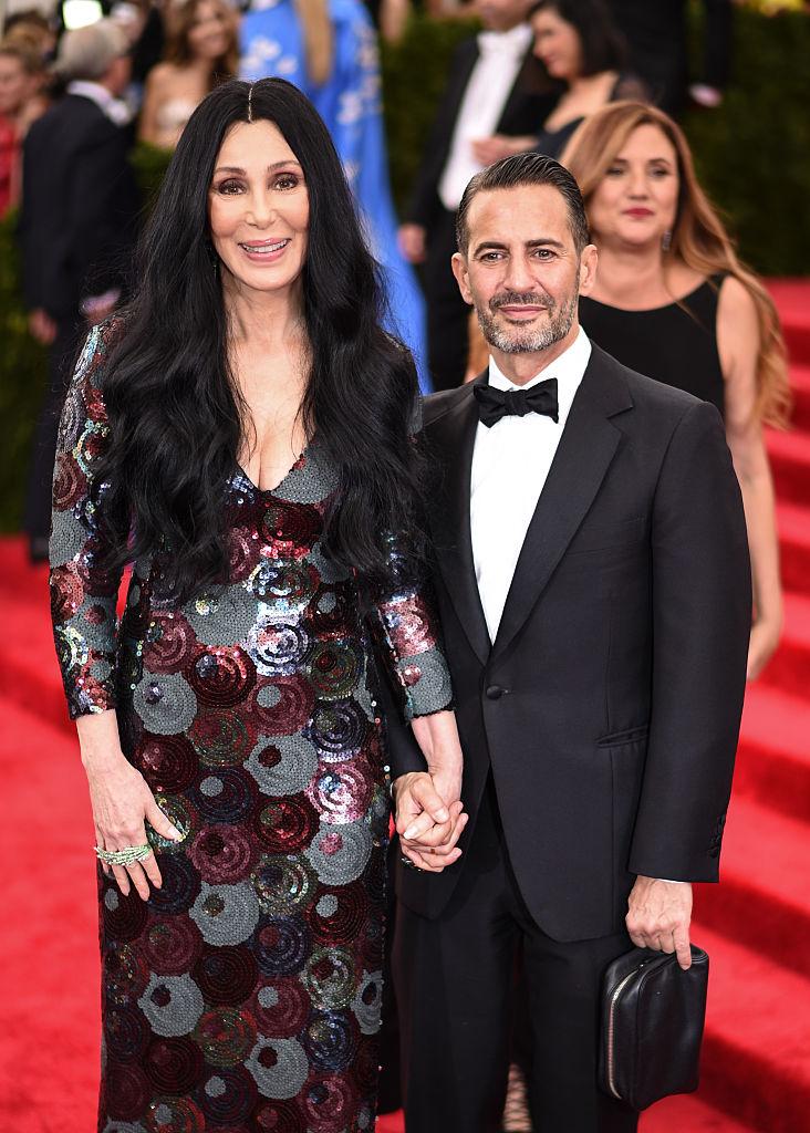 Cher és Marc Jacobs 2015-ben