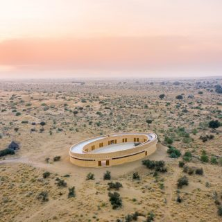 Szokatlan iskola épült az indiai sivatag közepén