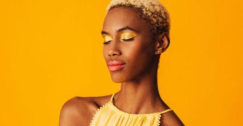 A sárga szemhéjsmink a tavasz egyik nagy kedvence