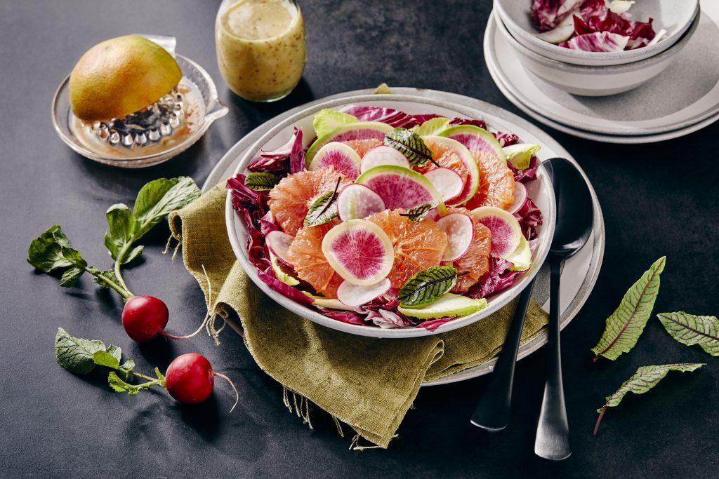 retek-saláta-vinaigrette-csirkemell-recept
