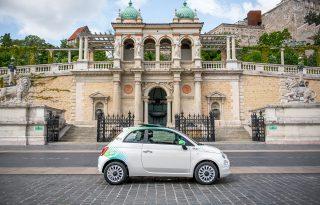 Ikonikus olasz modellel, Fiat 500-zal bővül a MOL Limo flottája
