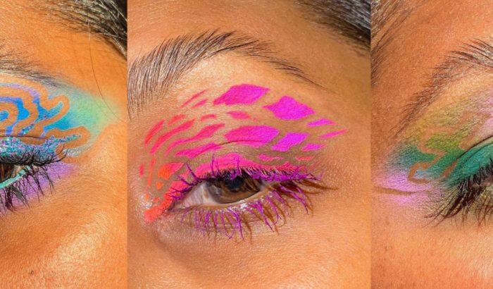 Lehúzható arcmaszk segítségével készülnek ezek a gyönyörű szemek