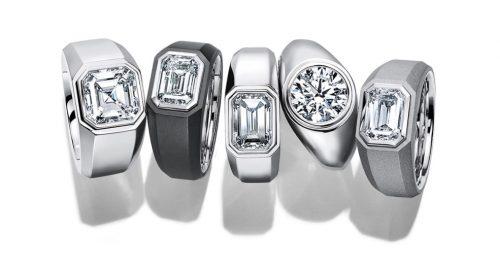Férfiaknak tervezett eljegyzési gyűrűt a Tiffany & Co