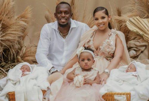 Usain Bolt ikrei nevével biztosan nyerte idén a celeb névadóversenyt
