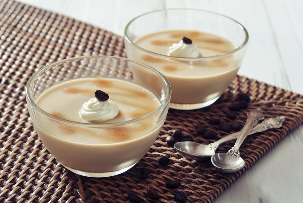 Kávés panna cotta recept