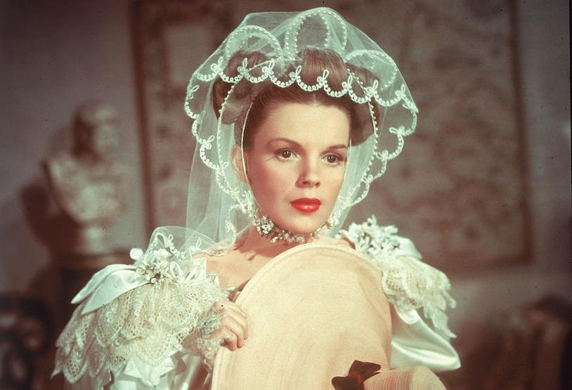 Judy Garland 1948-ban, A kalóz című film forgatásán