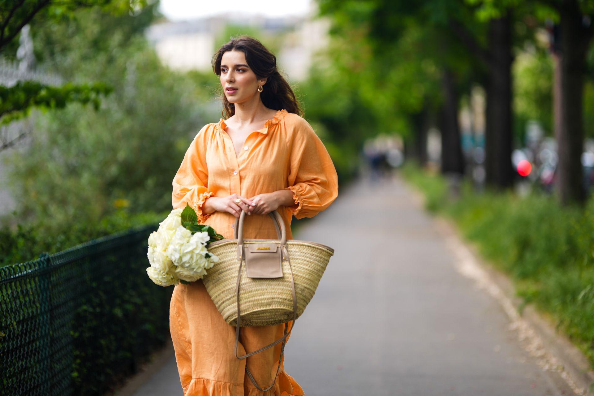 lenge lenvászon ruha street style