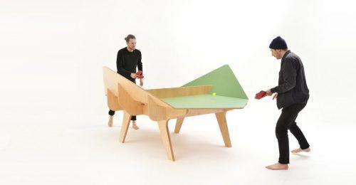 Különleges asztaloktól lesz izgalmasabb a pingpong