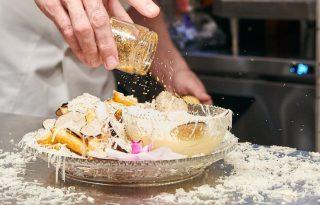 A világ legdrágább sült krumplija arannyal és pezsgővel készül